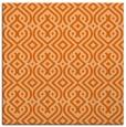 rug #202765   square red-orange traditional rug