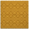rug #202809 | square yellow traditional rug