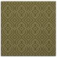 rug #202837 | square light-green traditional rug