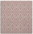 rug #202845   square pink retro rug
