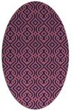 rug #202949 | oval blue-violet traditional rug