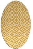 rug #203193   oval light-orange traditional rug