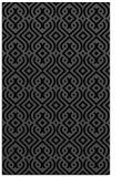 rug #203217 |  black retro rug