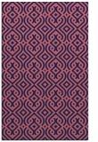 rug #203301 |  blue-violet traditional rug
