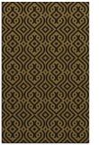 rug #203325 |  mid-brown retro rug