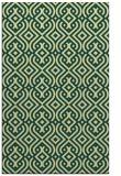 rug #203413 |  yellow retro rug