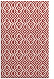 rug #203457 |  red traditional rug