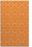 rug #203469 |  red-orange retro rug