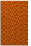 rug #203473 |  red-orange traditional rug