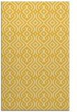 rug #203497 |  yellow traditional rug