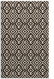 rug #203505 |  brown retro rug
