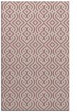 rug #203549 |  pink retro rug