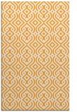 rug #203557 |  light-orange traditional rug
