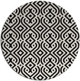 rug #203565   round white traditional rug