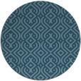rug #203588 | round retro rug