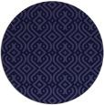 rug #203646   round retro rug