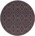 rug #203669   round blue-violet retro rug