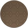 rug #203672 | round retro rug