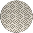 rug #203701 | round mid-brown popular rug