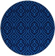 rug #203729   round blue rug