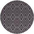 rug #203797 | round purple retro rug