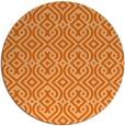 rug #203821   round red-orange traditional rug