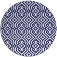 rug #203841 | round white traditional rug