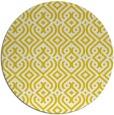 rug #203861 | round white rug