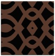 rug #204281 | square brown graphic rug