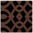 rug #204281 | square black graphic rug