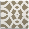 rug #204405 | square white graphic rug