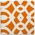 rug #204457 | square orange graphic rug