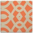 rug #204461 | square orange graphic rug