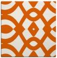 rug #204533 | square red-orange graphic rug