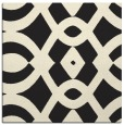rug #204573 | square black graphic rug