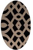 rug #204629   oval rug