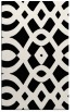 rug #204973    black graphic rug