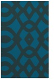 rug #205045 |  blue-green graphic rug