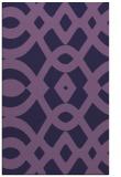 rug #205065 |  purple graphic rug