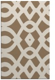 rug #205121 |  mid-brown graphic rug