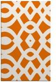 rug #205161 |  orange graphic rug