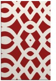 rug #205217 |  red graphic rug
