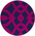 rug #205349 | round blue rug