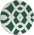 rug #205453 | round green rug