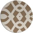 rug #205473   round beige graphic rug
