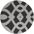 rug #205521 | round orange rug