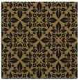 rug #206045 | square mid-brown damask rug