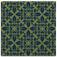 rug #206061 | square blue damask rug