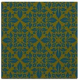 rug #206085 | square green traditional rug