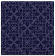 rug #206109   square blue-violet damask rug